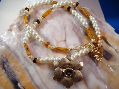 Honey Bunch Necklace
