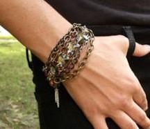 Funky Chunky Chain Bracelet