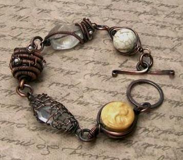 Hodge Podge Bracelet: A Wire Sampler