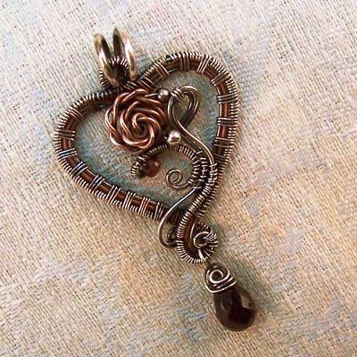 Lola Heart Pendant — Jewelry Making Journal