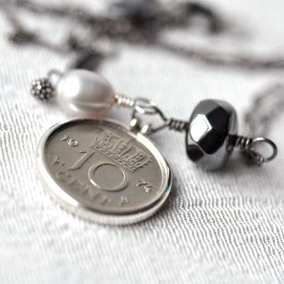Lucky Dutch Dime Necklace