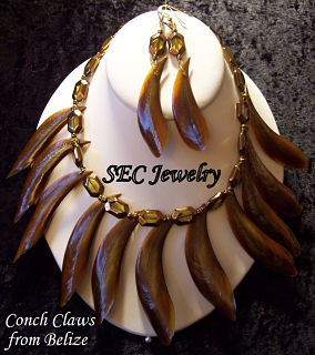 Conch claw jewelry