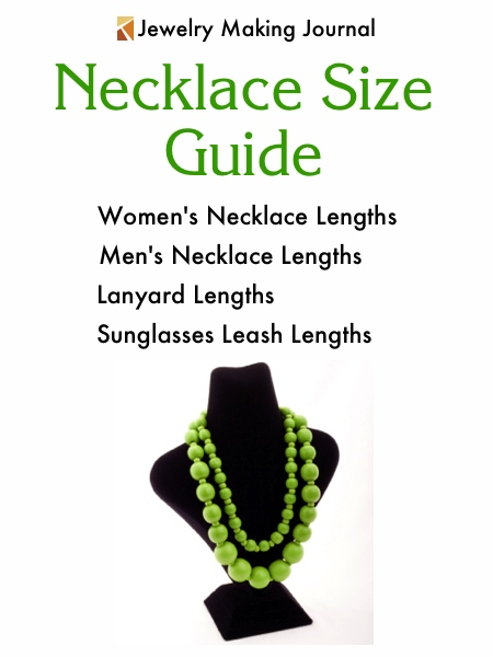 Necklace Size Chart - Jewelry Making Journal