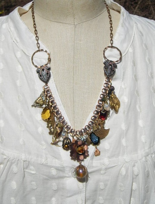 Vintage Finds Charm Necklace