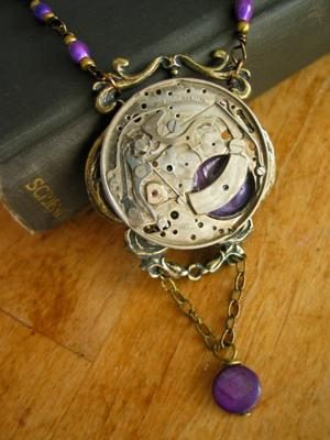 Royal Purple Time Piece