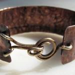 Rustic Copper Cuffs