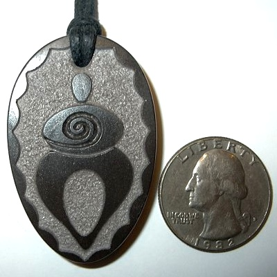 """The Healer"" African wonderstone pendant by Stephen Lee."