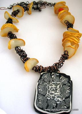 The desert Mambo necklace - Neena Shilvock