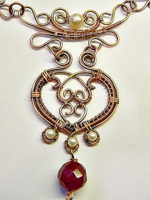 The Maharani's Heart Necklace