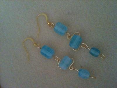Twisted Chain Earrings