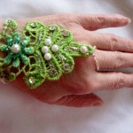 Reversible Lace Hand Jewelry