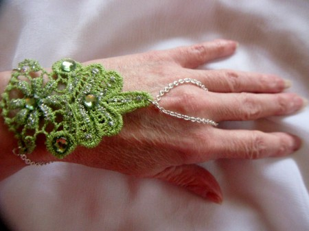 Reversible Lace Hand Jewelry, Softer Side