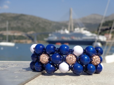 adriatic shamballa bracelet