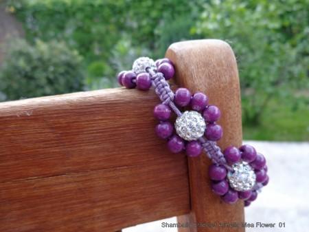Shamballa bracelet Armella Mea Flower 01