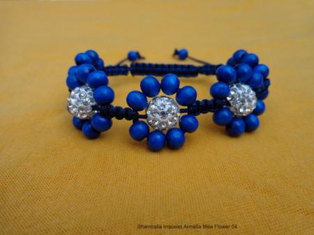 Shamballa bracelet Armella Mea Flower 04