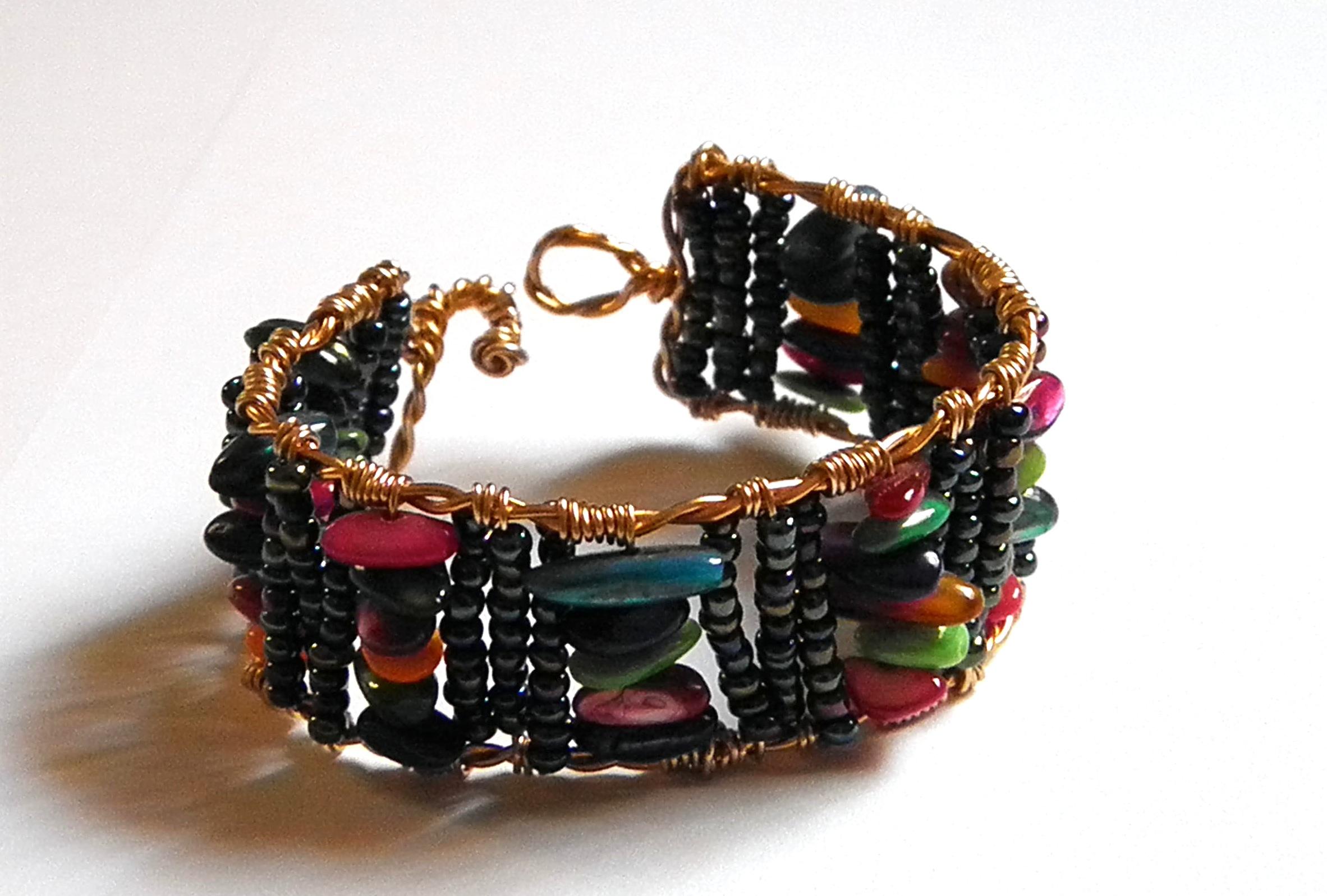 Skittle Rainbow Bracelet
