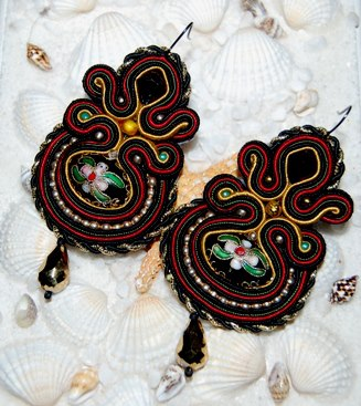 Margaret - Soutache Jewelry -1