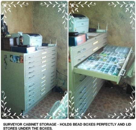 My best choice for storage - surveyor cabinet
