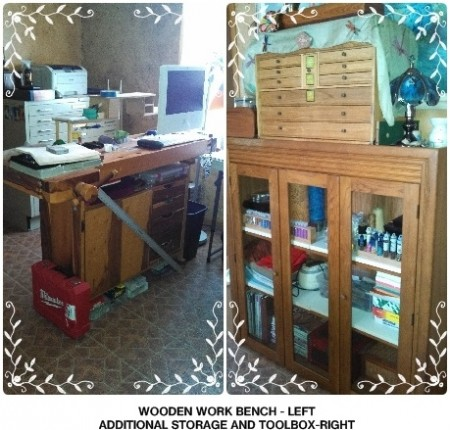 Workbench and storage