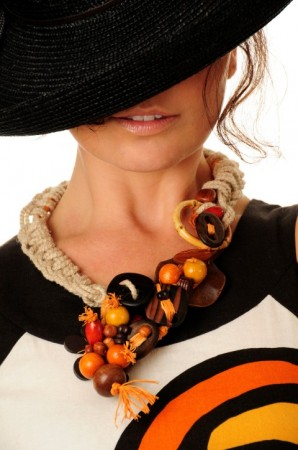 CRepanovici: Bold Necklace for Sunny Days