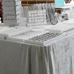 handmade fitted jewelry show table covers