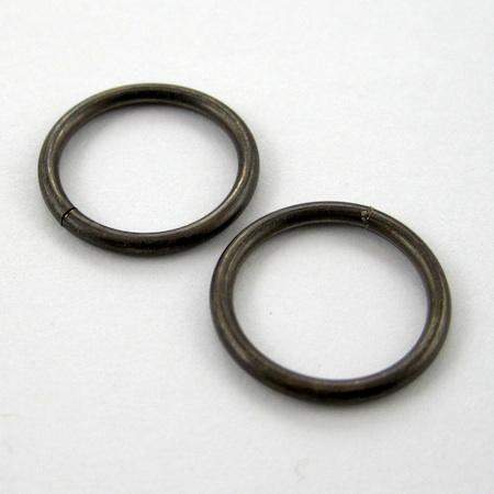 15 mm jump rings - Waterfall Earrings Tutorial by Rena Klingenberg