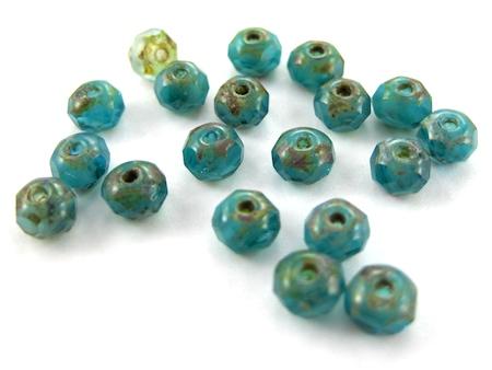 Beads for Waterfall Earrings Tutorial by Rena Klingenberg