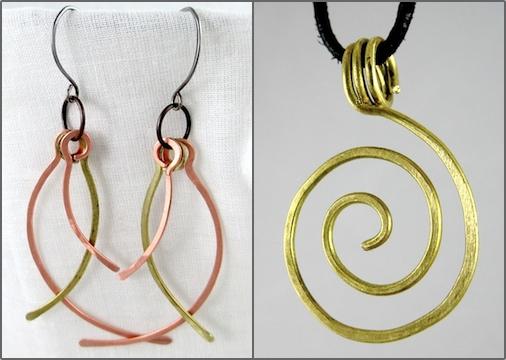 Wire Jewelry by Rena Klingenberg