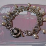 Gatsby Inspired: Mobius Rosette & Pearl Jewelry Set