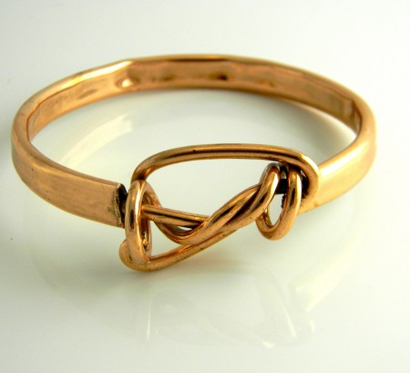 copper tubing bangle