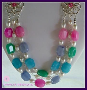 serpentine weave necklace