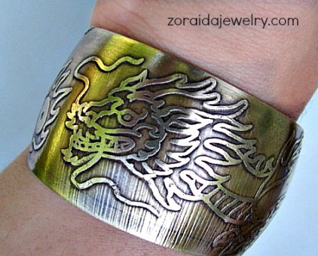 Zoraida: With My Daughter's Help 2  - featured on Jewelry Making Journal