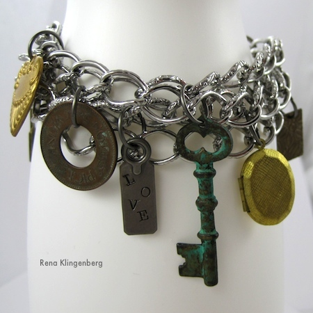 Chains & Charms Bracelet (Tutorial)