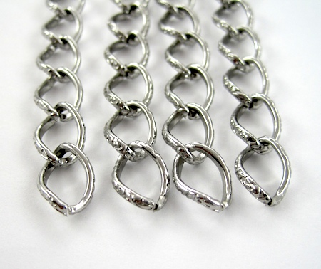 Chains for Chains and Charms Bracelet Tutorial by Rena Klingenberg