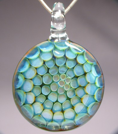 Honeycomb Glass Pendants Are Fun Colorful And Meticulous To Make