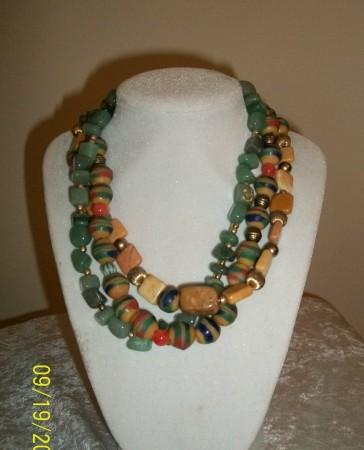 9/11 Krobo beads