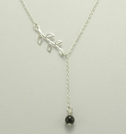 Bead Branch Necklace