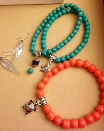 Simple Beaded Bracelets