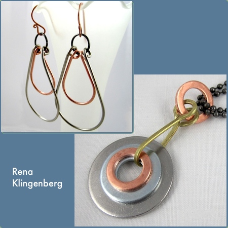 Industrial Jewelry Tutorials by Rena Klingenberg