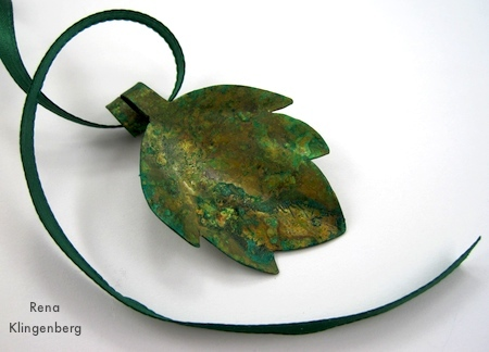 Rustic Autumn Pendants Tutorial by Rena Klingenberg