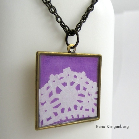 Lacy Jewelry Tutorial by Rena Klingenberg