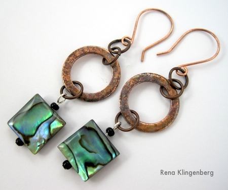 rustic-copper-washer-short-earrings-02-w