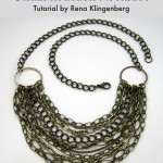 Chain Reaction Necklace - tutorial by Rena Klingenberg