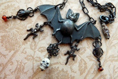spooky u0026 fun halloween necklace joan williams
