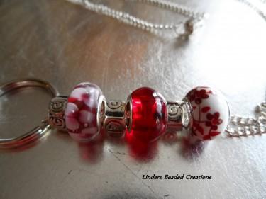 glass beaded lanyard