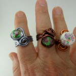 My Scrap Wire Rings