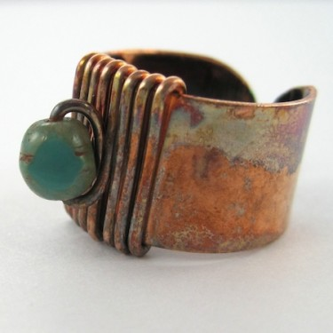 Rugged & Rustic Adjustable Ring (Tutorial)