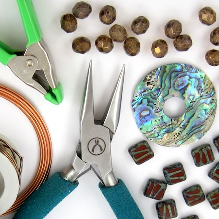 Storing Jewelry Supplies and Tools, by Rena Klingenberg, Jewelry Making Journal