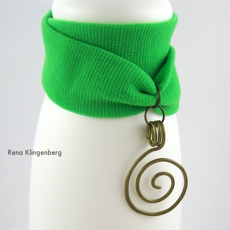 No-Sew Stretchy Wrap Bracelets - Tutorial by Rena Klingenberg