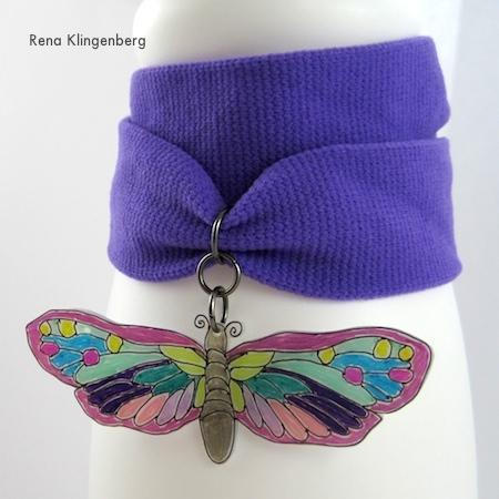 No-Sew Stretchy Wrap Bracelets - Tutorial by Rena Klingenberg